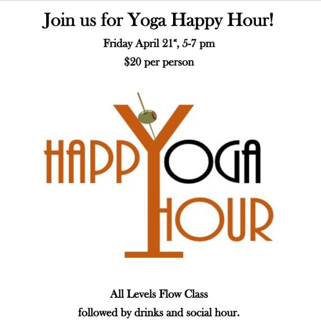 Yoga Happy Hour