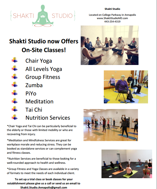 on site adult classes