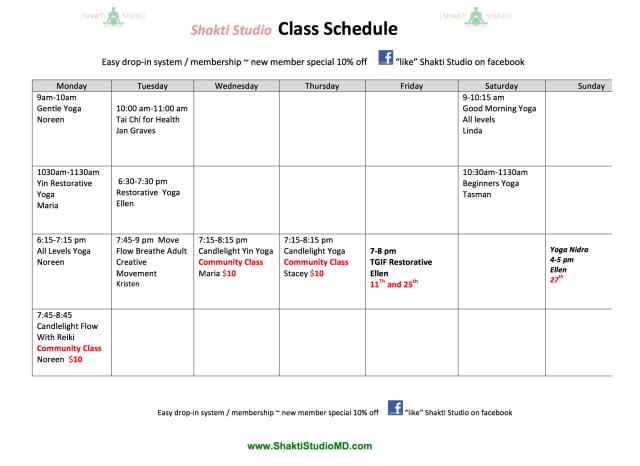Shakti Schedule Master